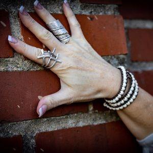 NEW Boho Handmade Boho Leather Wrap Bracelet
